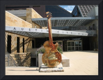 Austin - City Hall Guitar