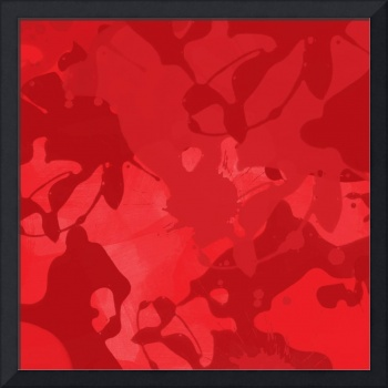 ORL-721 Red Abstract Painting I