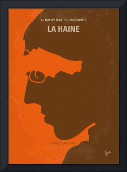 No734 My La Haine minimal movie poster