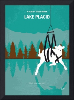 No944 My Lake Placid minimal movie poster