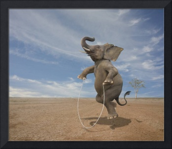 Elephant-Jumping-Rope