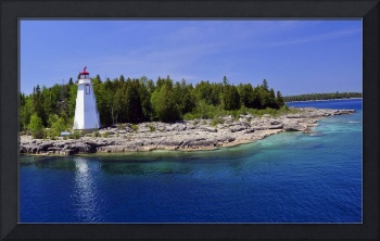 Old lighthouse at Bruce Peninsula, Canada