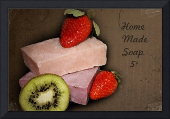 Vintage Strawberry Soap