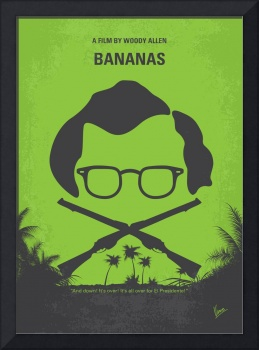 No375 My Bananas minimal movie poster