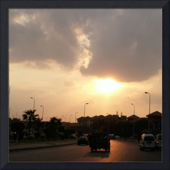 New Cairo Sunset
