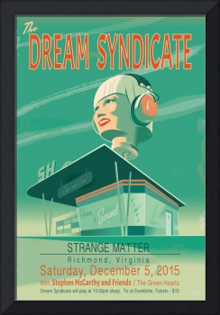 Dream Syndicate gig poster