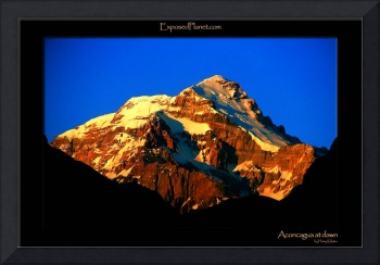 Aconcagua at dawn