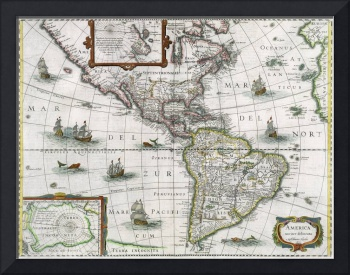 Map of the Americas, 1631