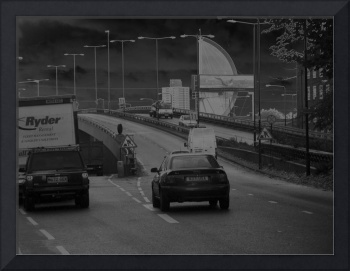 Photographic fine Art. Motorway.