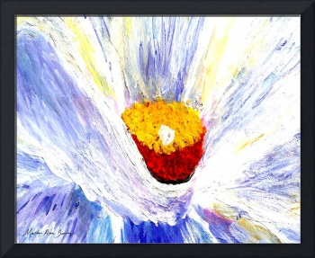 Abstract Floral Painting A001