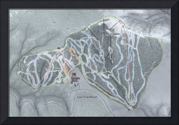 Lost Trail Resort Trail Map