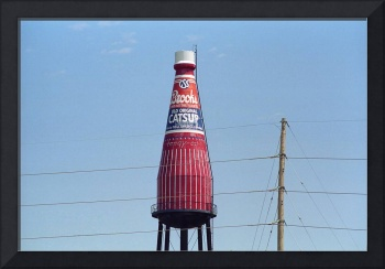 Route 66 - World's Largest Ketchup Bottle