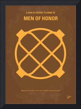 No099 My Men of Honor minimal movie poster