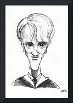 Draco Malfoy caricature