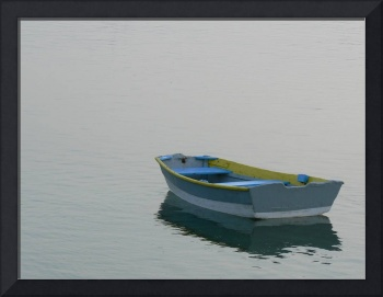 Blue and Yellow Boat #2