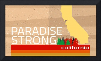 Strong Paradise Camp Fire 2018 California Vintage