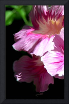 Pink Digital Flower