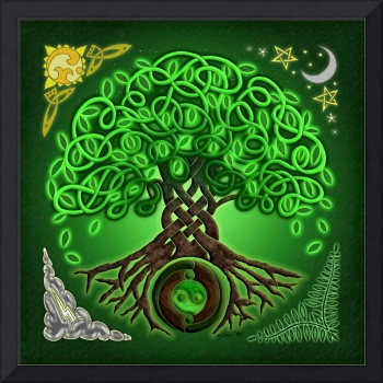 Circle Celtic Tree of Life