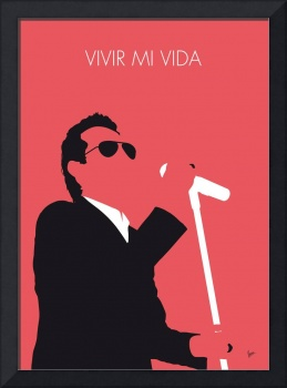 No292 MY Marc Anthony Minimal Music poster