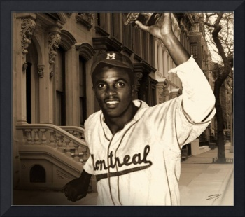 Jackie Robinson Becomes a Brooklyn Dodger