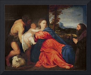 Virgin and Infant with Saint John the Baptist and