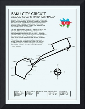 Baku City Grand Prix Circuit