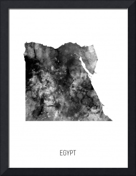 Egypt Watercolor Map
