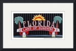 Florida Land of Sunshine Poster by David Caldevilla