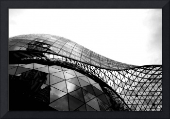 Curve Glass Steel, Ion orchard Singapore