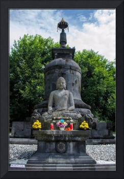 The statue of Budha