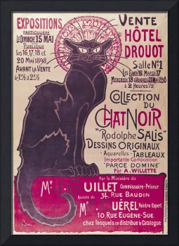 Poster Collection du Chat Noir cabaret