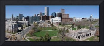 Civic Center Panorama, Denver, Colorado