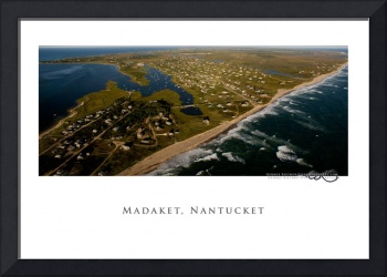 Madaket Aerial Panorama, Nantucket