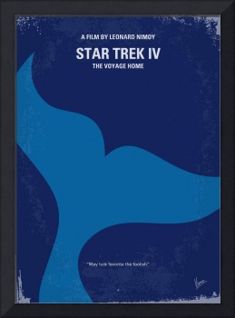 No084 My Star Trek - 4 minimal movie poster