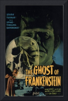HALLOWEEN GHOST OF FRANKENSTEIN CLASSIC  POSTER