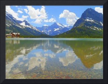 Swiftcurrent Lake - Glacier National Park