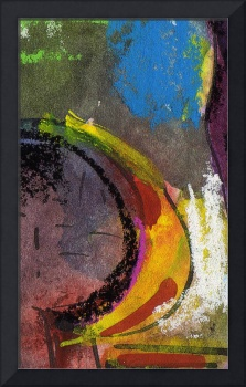 Mad Banana Abstract by Ginette Callaway