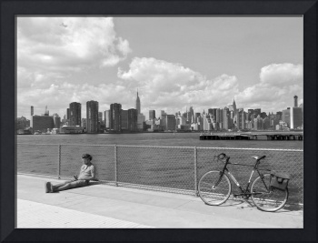 NYC Skyline by the East River-2