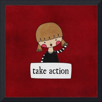 Take Action by Linda Tieu