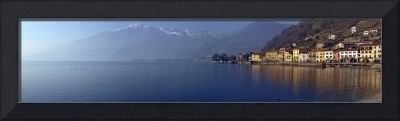 Town at the waterfront Domaso Lake Como Como Lomb