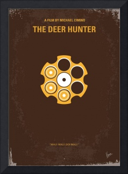 No019 My Deerhunter minimal movie poster