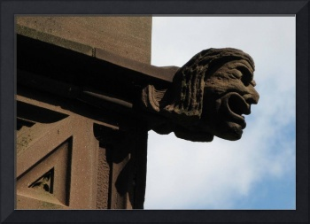Wesleyan University Davison Health Center Gargoyle