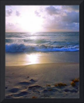 Treasure Coast Florida Sunrise Seascape B4