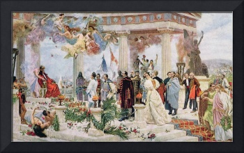 Ceremonial Curtain of the Croatian National Theatr