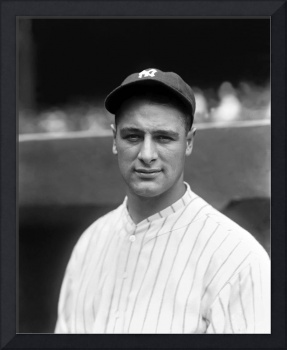 Lou Gehrig looking forward