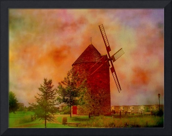 Quebec  Countryside  Windmill