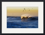 Golden Wave and Birds by Brandon Watts