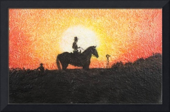 Cowboys_At_Sunset