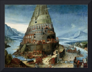 CIRCLE OF TOBIAS VERHAECHT - THE TOWER OF BABEL