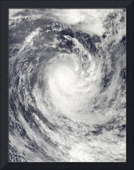 Cyclone Rene over the South Pacific Ocean